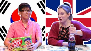 Download Korean & British People Swap Snacks Video