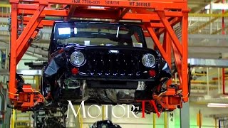 Download CAR FACTORY : JEEP WRANGLER PRODUCTION l ASSEMBLY LINE Video