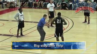 Download Basketball 2-on-2 Closeout Drill! Video