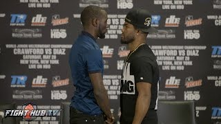 Download Terence Crawford vs. Felix Diaz Full Face Off Video - Final Press Conference Video