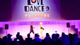 Download Eva & David salsa/waacking @ LDF in Sweden 2013 Video
