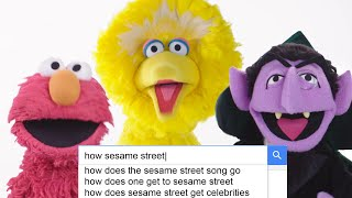 Download The Cast of 'Sesame Street' Answer the Web's Most Searched Questions | WIRED Video