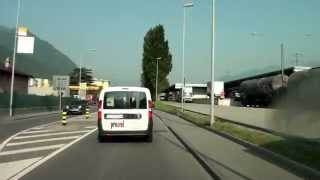 Download From Lugano to Locarno / Driving Video/ Switzerland/ 06.2013/ FullHD Video