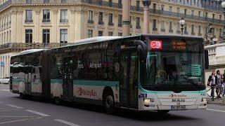 Download Paris Roissy Bus Man Lion City Opéra - Charles De Gaulle Airport Video