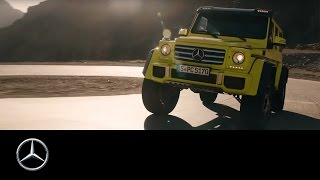 Download Mercedes-Benz G500 4x4²: Expecting the new show car G 500 4x4² Video