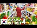 Download VLOGMAS IN KOREA 🇰🇷 🎄 #4 - Vegan food in our neighborhood, Korean Grocery Store Tour Video