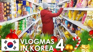 Download VLOGMAS IN KOREA #4 - Vegan food in our neighborhood, Korean Grocery Store Tour Video