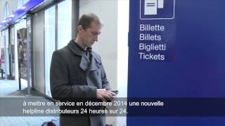 Download De nouveaux services au distributeur de billets. Video