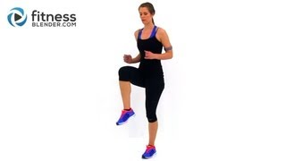 Download Fat Burning Cardio Workout - 37 Minute Fitness Blender Cardio Workout at Home Video
