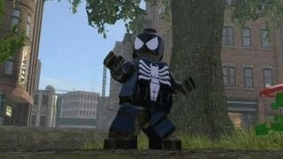 Download LEGO Marvel Super Heroes (PS4) - All Spider Man Characters & Vehicles (DLC Included) Video