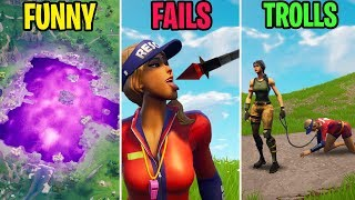 Download LOOT LAKE COMPLETELY TRANSFORMED! FUNNY vs FAILS vs TROLLS! Fortnite Funny Moments 281 Video