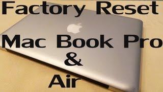 Download How to : Factory Reset / Hard Reset Your MacBook Pro & Air (Easiest Method) Video