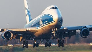 Download STRANGE Airbus sound / AIRBUS 350 / BOEING 747-8 / ASKCargo 003# Video