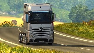 Download Euro Truck Simulator 2 - Share Mercedes-Benz Actros MP4 Roadstars Video