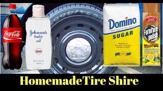 Download NEVER BUY TIRE SHINE AGAIN! Cheap DIY Homemade $1 Tire Shine for $1 Video
