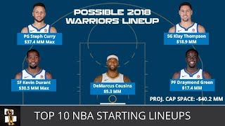 Download Top 10 NBA Starting Lineups For The 2018-19 Season From NBA Weekly with Harris Rubenstein Video
