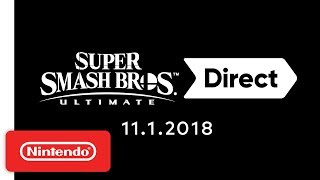 Download Super Smash Bros. Ultimate Direct 11.1.2018 Video