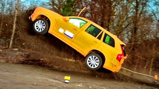 Download Crashing The Volvo XC90 - Fifth Gear Video
