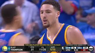 Download The Playoff Game Klay Thompson Made History Video