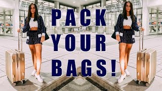 Download How I Stay Organized for Travel - Packing Tips || EJB Video
