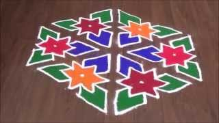 Download Diwali special Dots rangoli design Video