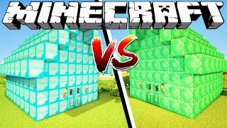 Download DIAMOND HOUSE VS EMERALD HOUSE - Minecraft Video
