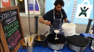 Download South Indian Street Food: Masala and Egg Dosas with Sambar & Coconut Chutney by ″Dosa Days″, London. Video
