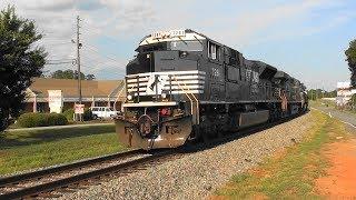 Download NS 180 rolls north through Lovejoy, Ga. Video