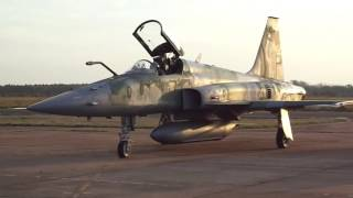 Download Avião de caça F-5 TIGER II da FAB airshow Video