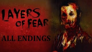 Download Layers of Fear: All Endings ( Wife, Wife & Child and Painter Endings) Video