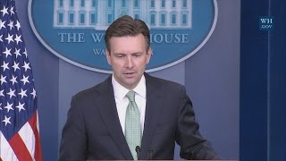 Download 11/9/16: White House Press Briefing Video