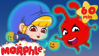 Download Halloween! Morphle and Mila turned into Ghosts! Scary but Cute Halloween Videos For Kids Video