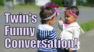 Download Twin's Funny Conversation! - June 16, 2015 - ItsJudysLife Vlogs Video