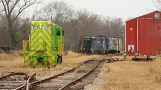 Download Shortline Railroading at its Finest: Ohio South Central Railroad Video