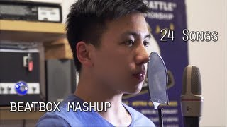 Download 24 songs beatbox challenges 1 take finish ( beatbox 歐美歌曲串燒) by HeartGrey Video