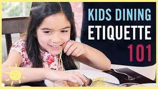 Download KIDS DINING ETIQUETTE 101 (with an Expert Coach!) Video