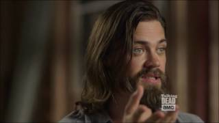 Download Talking Dead S7 special - Tom Payne on Jesus' fighting skills Video