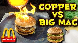 Download Molten Copper vs Big Mac Video