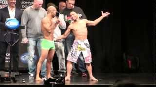 Download Demetrius Johnson vs. John Dodson - Weigh-Ins - UFC on FOX 6 - Chicago, Illinois Video