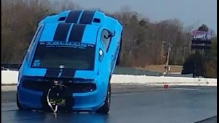 Download 2000hp Wheelie King Shelby GT500 - EvolutionPerformance Video