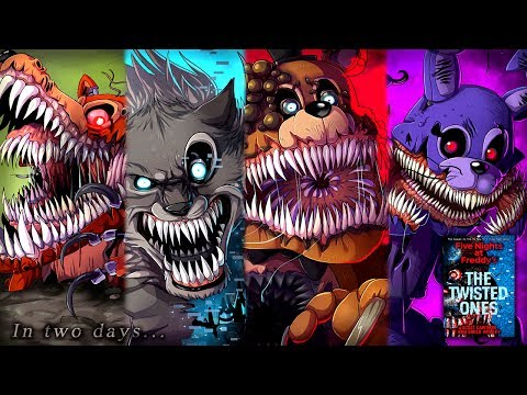 Five Nights at Freddys The Twisted Ones All Animatronics!! (NEW FNAF Teaser)
