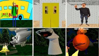 Download ALL CHARACTER in Camping With Baldi Video