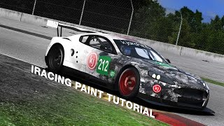 Download iRacing Paint Tutorial Video