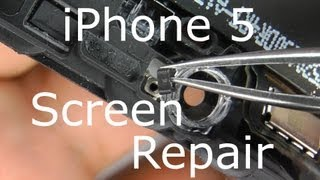 Download iPhone 5 Screen Replacement & Home Button Repair - Touch Screen Digitizer & LCD Video