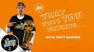 Download Matt Barnes on that time Kobe Bryant even didn't flinch | The Jump | ESPN Video