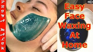 Download Face Waxing - LIVE DEMO | Remove Facial Hair Easily At Home | Priya Malik Video