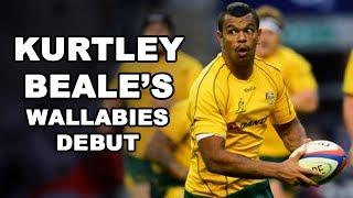 Download Kurtley Beale's Wallabies Debut Video