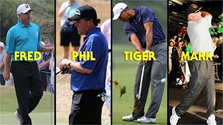 Download Tiger, Phil, Couples, O'Meara Ball Striking at Skins Game Video