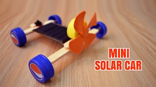 Download How to Make a Mini Solar Car - Homemade. Video