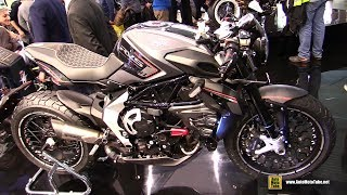 Download 2018 MV Agusta RVS #1 Reparto Veicoli Speciali - Walkaround - 2017 EICMA Milan Video